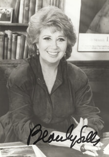BEVERLY SILLS - AUTOGRAPHED SIGNED PHOTOGRAPH