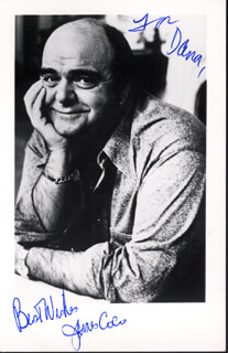 JAMES JIMMY COCO - AUTOGRAPHED INSCRIBED PHOTOGRAPH