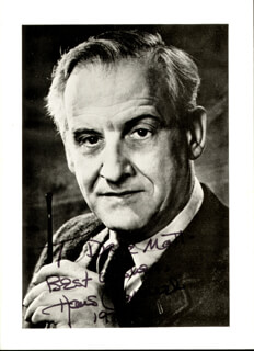 HANS CONRIED - AUTOGRAPHED INSCRIBED PHOTOGRAPH 1978