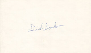 CAPTAIN RICHARD F. DICK GORDON JR. - AUTOGRAPH