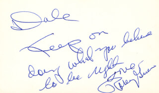 ROSEY (ROOSEVELT) GRIER - AUTOGRAPH NOTE SIGNED