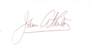 JAMES ATHERTON - AUTOGRAPH