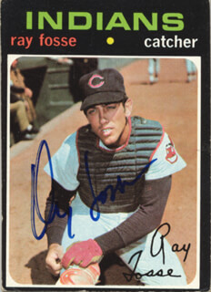 RAY FOSSE - TRADING/SPORTS CARD SIGNED