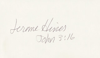 JEROME HINES - AUTOGRAPH