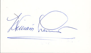 WILLIAM LEWIS - AUTOGRAPH