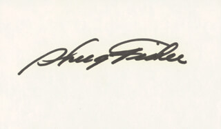 SHUG FISHER - AUTOGRAPH