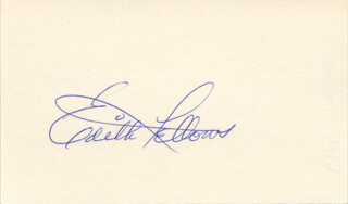 EDITH FELLOWS - AUTOGRAPH