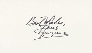 ANNE GWYNNE - AUTOGRAPH SENTIMENT SIGNED