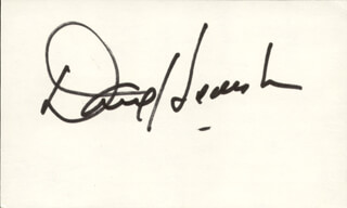 DAVID HUDDLESTON - AUTOGRAPH
