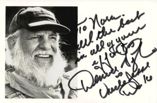 DENVER D. PYLE - AUTOGRAPHED INSCRIBED PHOTOGRAPH