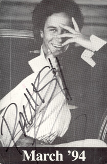 PAULY SHORE - PICTURE POST CARD SIGNED