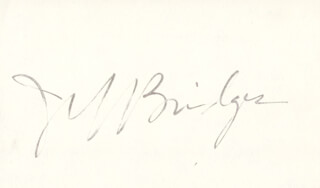 JEFF BRIDGES - AUTOGRAPH