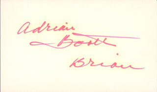 ADRIAN (LORNA GRAY) BOOTH - AUTOGRAPH