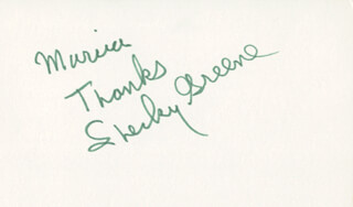 Autographs: SHECKY GREENE - AUTOGRAPH NOTE SIGNED