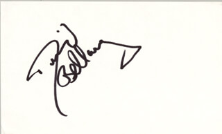 THE BELLAMY BROTHERS (DAVID BELLAMY) - AUTOGRAPH