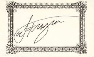 JOE SMOKIN JOE FRAZIER - AUTOGRAPH