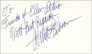 ALTHEA GIBSON - INSCRIBED SIGNATURE