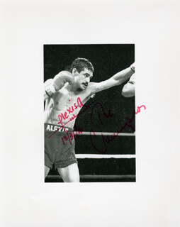 Autographs: ALEXIS ARGUELLO - PHOTOGRAPH SIGNED 10/31/1991