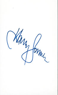 HARRY JAMES - AUTOGRAPH