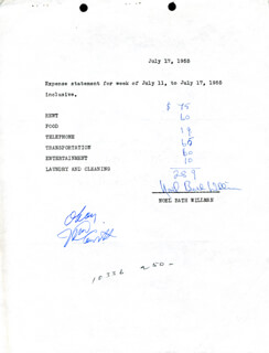 NOEL BATH WILLMAN - DOCUMENT SIGNED 07/17/1955