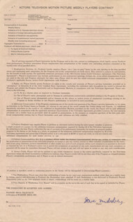 STEVE LANDESBERG - CONTRACT SIGNED 02/18/1975