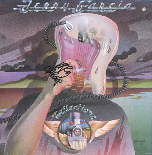 THE GRATEFUL DEAD (JERRY GARCIA) - RECORD ALBUM COVER SIGNED  - HFSID 209641