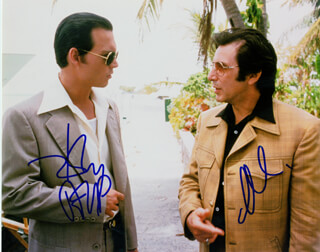 DONNIE BRASCO MOVIE CAST - AUTOGRAPHED SIGNED PHOTOGRAPH CO-SIGNED BY: JOHNNY DEPP, AL PACINO