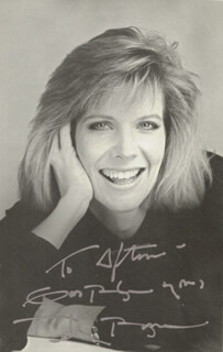 Autographs: DEBBY BOONE - INSCRIBED PHOTOGRAPH SIGNED