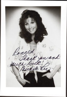 MICHELE LEE - AUTOGRAPHED INSCRIBED PHOTOGRAPH