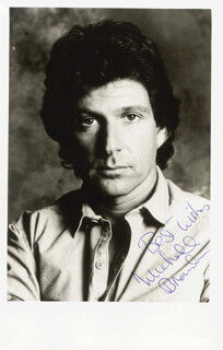 MICHAEL BRANDON - AUTOGRAPHED SIGNED PHOTOGRAPH