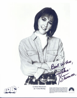 CYNTHIA STEVENSON - AUTOGRAPHED SIGNED PHOTOGRAPH