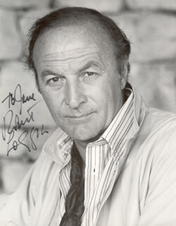 ROBERT LOGGIA - AUTOGRAPHED INSCRIBED PHOTOGRAPH