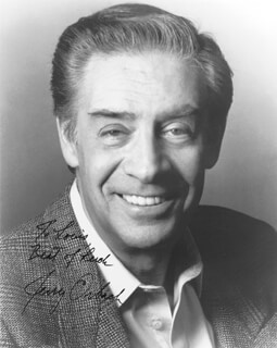 JERRY ORBACH - AUTOGRAPHED INSCRIBED PHOTOGRAPH