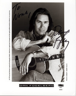 DAN FOGELBERG - AUTOGRAPHED INSCRIBED PHOTOGRAPH