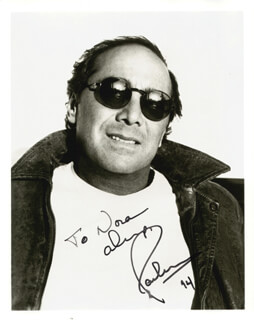 Autographs: PAUL ANKA - INSCRIBED PHOTOGRAPH SIGNED 1994