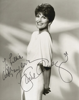 Autographs: LUCIE ARNAZ - INSCRIBED PHOTOGRAPH SIGNED