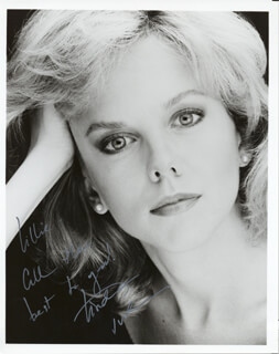 LINDA PURL - AUTOGRAPHED INSCRIBED PHOTOGRAPH