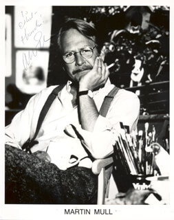 MARTIN MULL - AUTOGRAPHED INSCRIBED PHOTOGRAPH