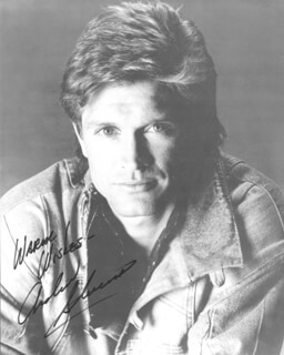 ANDREW STEVENS - AUTOGRAPHED SIGNED PHOTOGRAPH