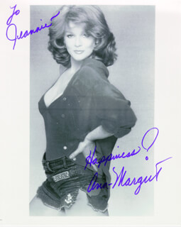 ANN-MARGRET - AUTOGRAPHED INSCRIBED PHOTOGRAPH  - HFSID 210720
