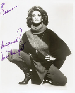 ANN-MARGRET - AUTOGRAPHED INSCRIBED PHOTOGRAPH  - HFSID 210721