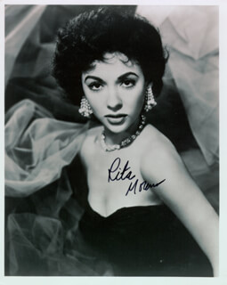 RITA MORENO - AUTOGRAPHED SIGNED PHOTOGRAPH