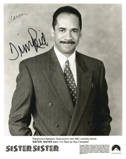 TIM REID - AUTOGRAPHED INSCRIBED PHOTOGRAPH