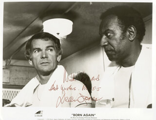 DEAN JONES - PRINTED PHOTOGRAPH SIGNED IN INK