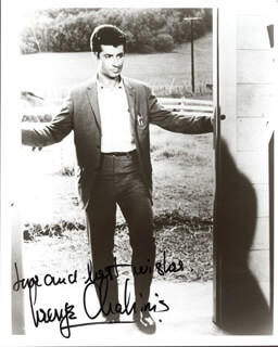 GEORGE CHAKIRIS - AUTOGRAPHED SIGNED PHOTOGRAPH