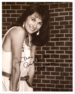 MEL HARRIS - AUTOGRAPHED INSCRIBED PHOTOGRAPH