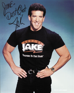 JAKE STEINFELD - AUTOGRAPHED INSCRIBED PHOTOGRAPH