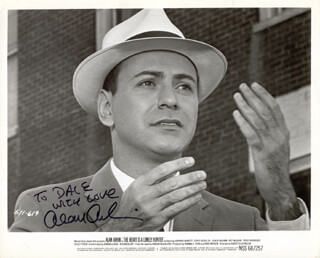 ALAN ARKIN - AUTOGRAPHED INSCRIBED PHOTOGRAPH