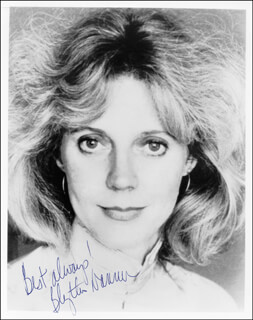 BLYTHE DANNER - AUTOGRAPHED SIGNED PHOTOGRAPH
