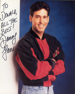 DANNY GANS - AUTOGRAPHED INSCRIBED PHOTOGRAPH